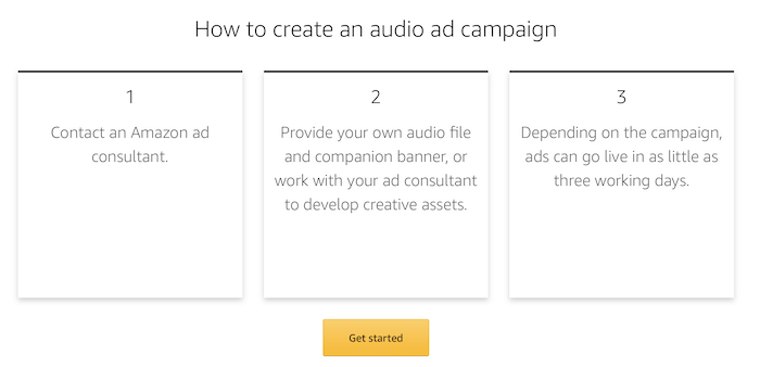 Amazon Audio Ads - How To Create An Audio Ad Campaign