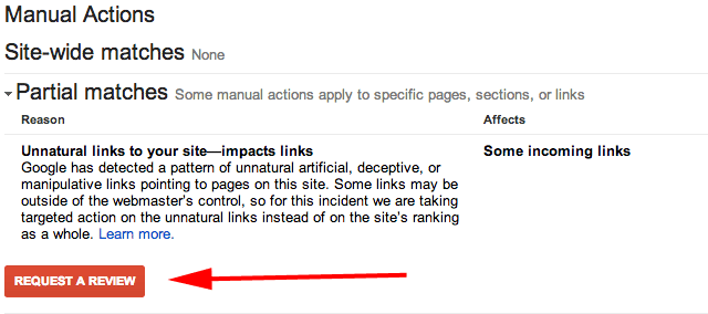 clean up link profile manually in addition to disavow tool