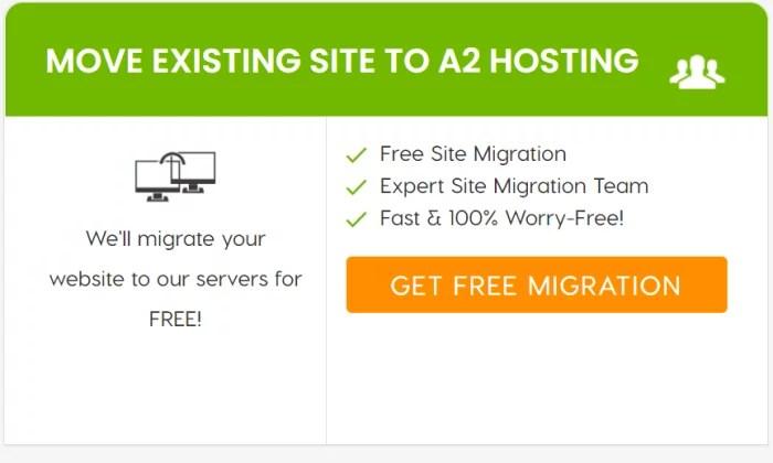 A2 Hosting migration service for Best Shared Hosting