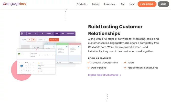 EngageBay CRM for Best CRM Software