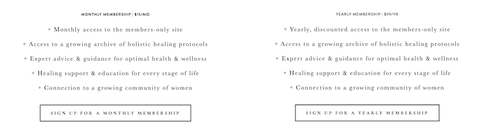 Fitness Advertising Strategies - Create a Membership Site