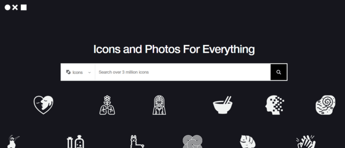 the noun project graphic design image finder