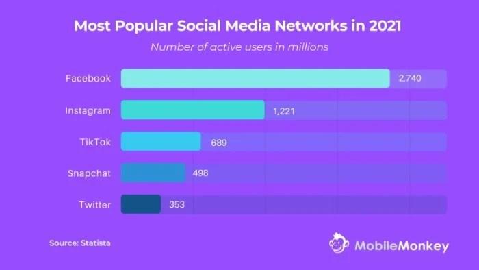 Best Instagram Automation Tools - MobileMonkey Instagram Automation tools survey graph image