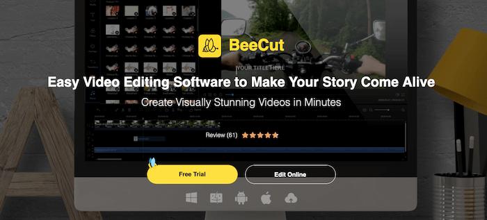 Tools to edit TikTok Videos - BeeCut