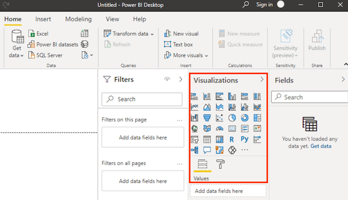 Getting Started With Power BI for Marketing - Visualize the Data