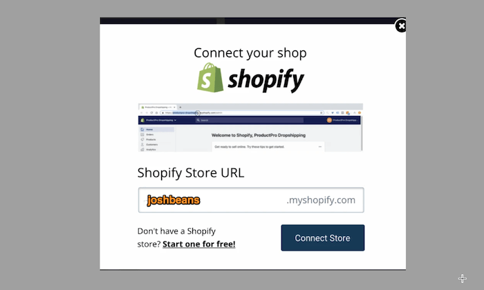 Connect your domain to Shopify for How to Start an Online Store
