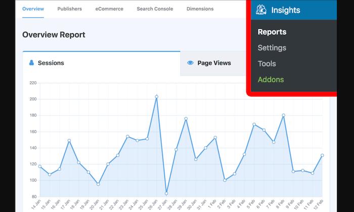 MonsterInsights analytics for Best WordPress Plugins