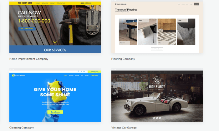 Wix business site templates for Best Free Web Hosting