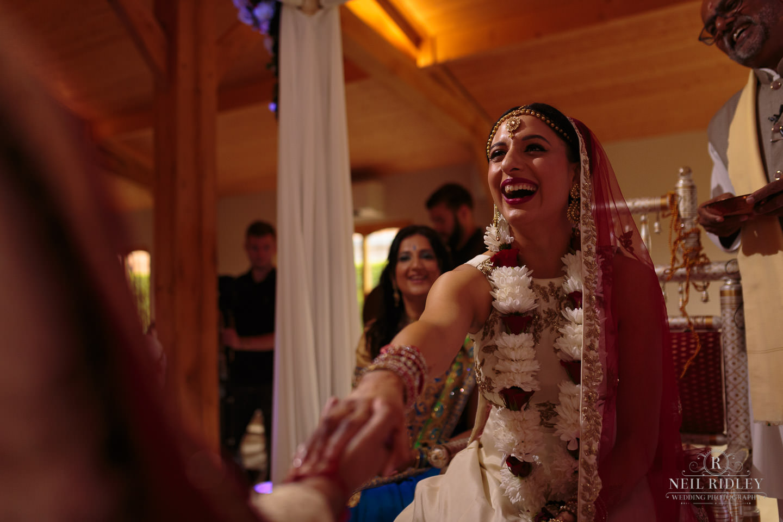 Merrydale Manor Wedding Photographer - Bride sees Groom