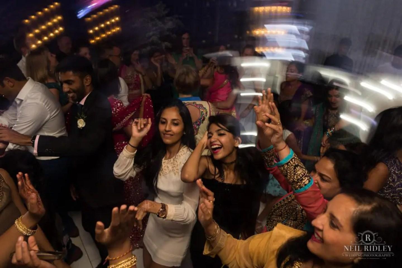 Merrydale Manor Wedding Photographer - Dance floor shot