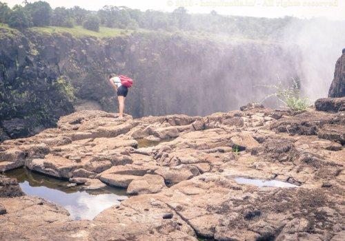 Overlooking Victoria Falls