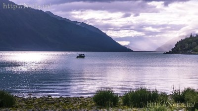 Filming location at Haines