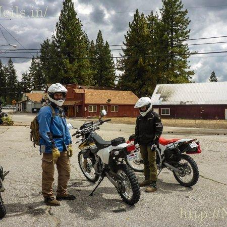Riding with Hosanna and Josh