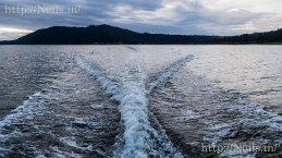 Boat trip around Bear Lake