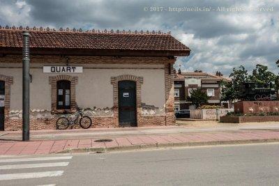 Ruta del Carrilet - Quart station
