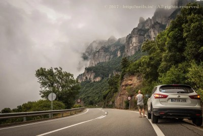 Approach to Montserrat in low cloud base