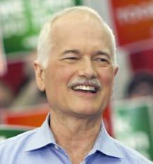 NDP leader Jack Layton