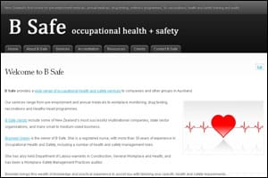 B Safe occupational health + safety