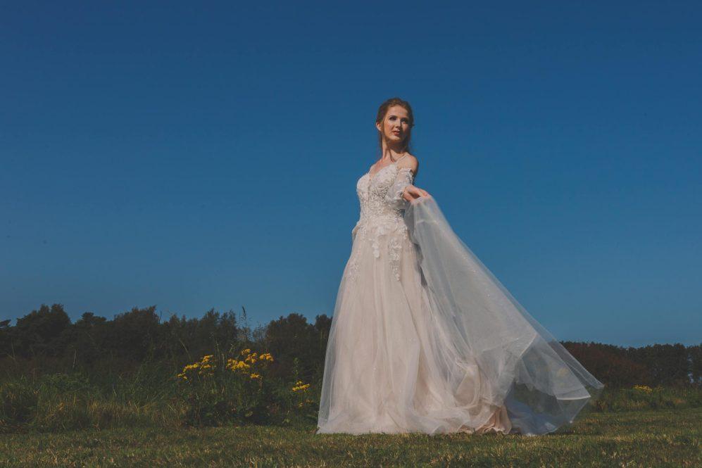 Bride at Brairfields hotel Norfolk