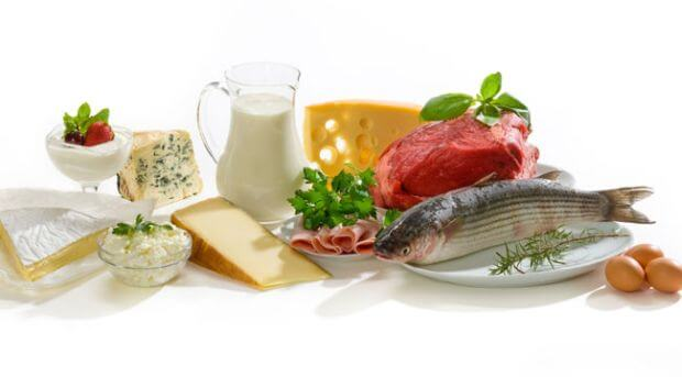 Protein is a macronutrient that the body breaks down into amino acids for use in tissue growth and repair.