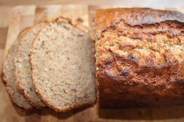 This healthier banana bread recipe is made from the very minimal amount of oil and sugar and contains no butter. It's an absolutely delicious recipe that I've made for my family and friends for years. If they love it, I can guarantee that you will too!