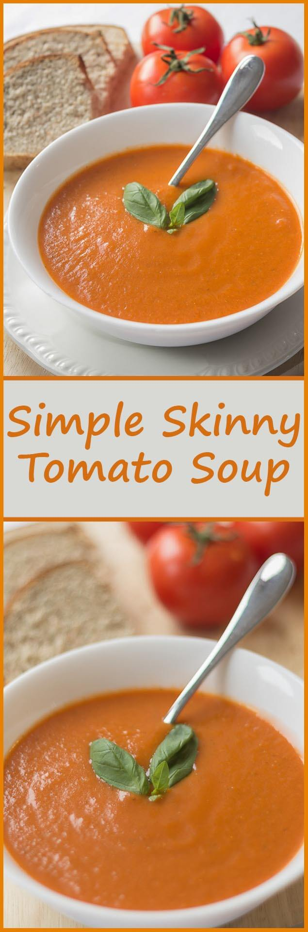 Low in calories, carbs, fat and cost. An all year round easy family tomato soup recipe, simply packed full of flavour. You'll never want to buy a tinned tomato soup again!