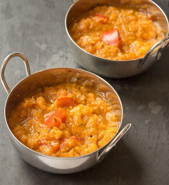 Healthy King Prawn Curry Main