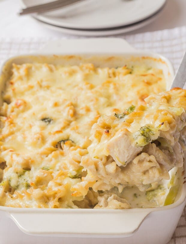 Cauliflower cheese pasta bake recipe