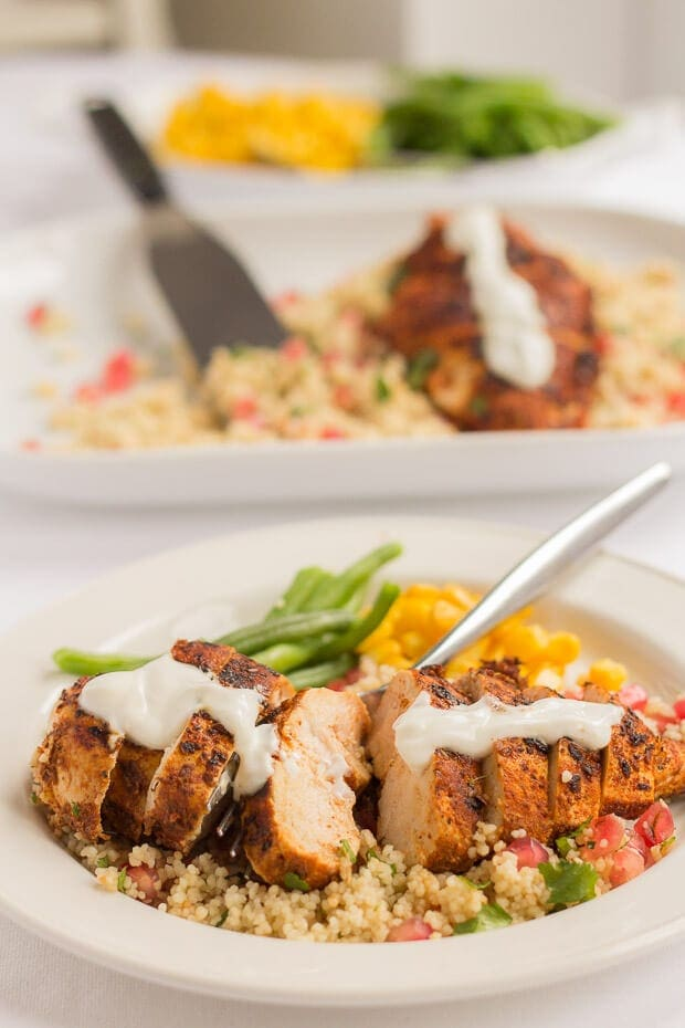 Weeknight dinners just became quicker with this tasty cajun spiced chicken recipe. Healthy, delicious filling and best still, ready to be served in just 30 minutes.