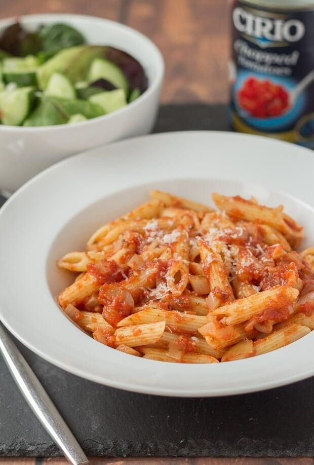 Easy Pasta Arrabiata Recipe
