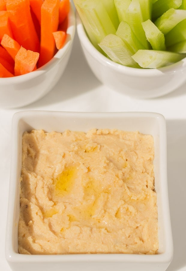 Hummus. These 4 easy healthy dips to make are perfect for sharing with friends or taking to parties. Tasty and delicious, these guilt free dip recipes are made with less salt, are low in fat and have no sugar added unlike shop bought. Your friends will thank you for helping to look after their waistlines!