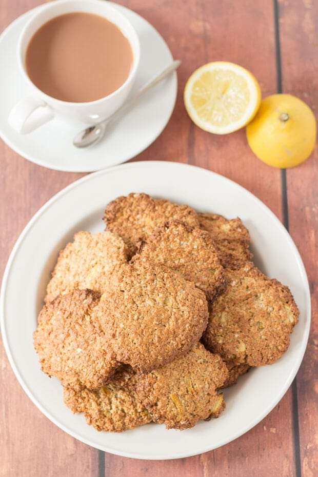 Lemon Oat Cookies