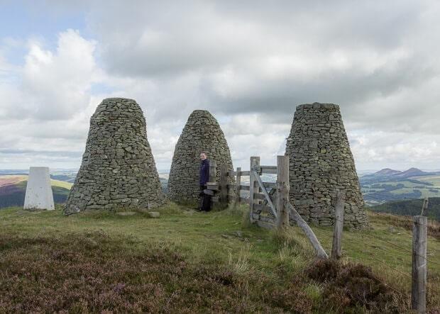 Three Brethren cairns