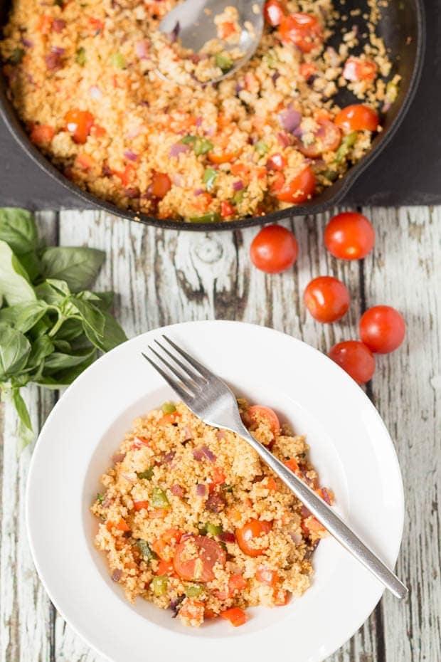 Mediterranean Chorizo Couscous