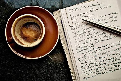 Se forcer à écrire ?