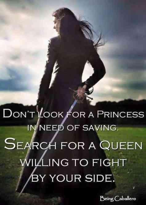 Princess warrior image