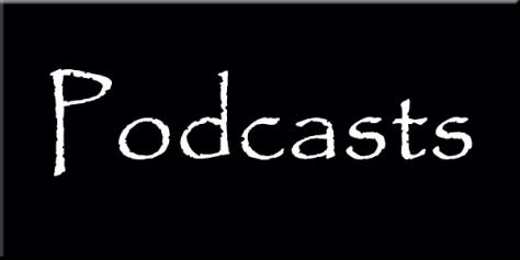 Podcast wording graphic