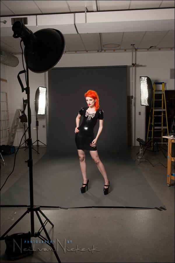Studio photography Lowkey lighting variations