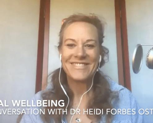digital wellbeing dr heidi Forbes oste