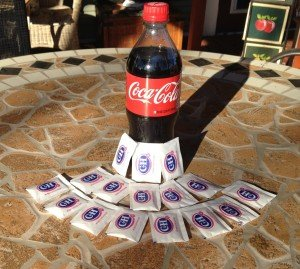 Coke-16packets-sugar-Neily