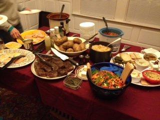 Walker super bowl party