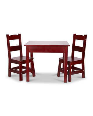 Table With Two Chairs Kids Solid Wood Table Two Chairs