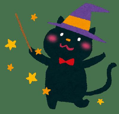 ハロウィンで黒猫の仮装をする意味を教えて不吉どころか幸運キャラ?