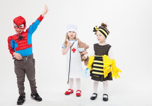 ハロウィン仮装を幼稚園でする子供にふさわしいコスプレと人気キャラ
