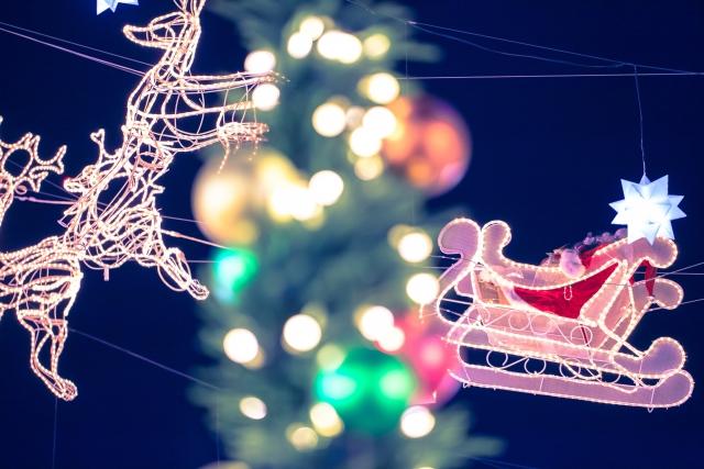 サンタクロースのトナカイは何頭いるのか名前と赤鼻のルドルフの由来