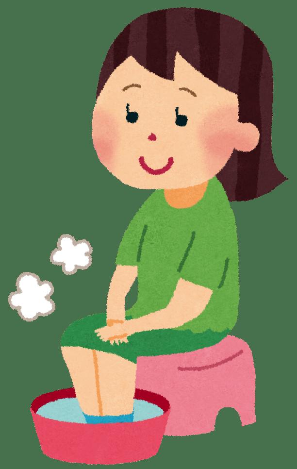 足湯の効果と効能すぐに自宅で出来るやり方と冷えとりに効果的な方法