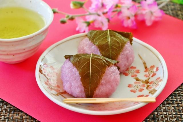 桜餅は関東と関西で呼び方が違う?和菓子の長命寺と道明寺の違いは?