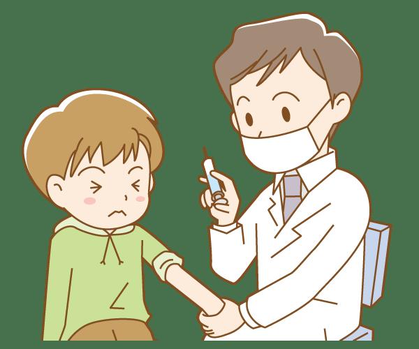 子供13歳未満のインフルエンザ予防接種の時期はいつが効果的?