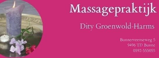 Massagepraktijk Dity Groenwold-Harms
