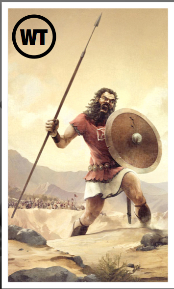 What is your Goliath? - Neither Height Nor Depth